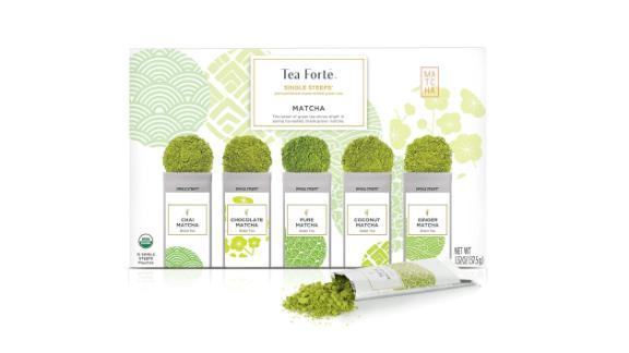 Tea Forte Organic Match Green Tea (33.17; amazon.com)