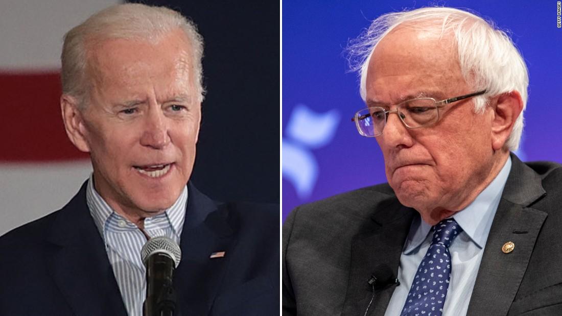 Analisis: Hal ini tidak hanya jajak pendapat yang menunjukkan Biden dan Sanders terkemuka primer