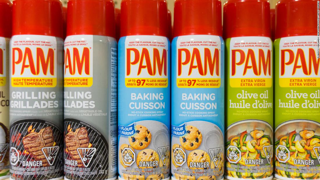 Cans of Pam and other cooking sprays exploded and caused severe burns, lawsuits say