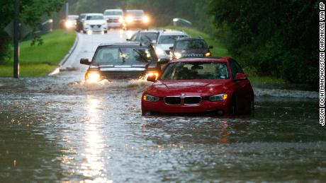 Intense rain near Houston causes floods and strings of students at schools