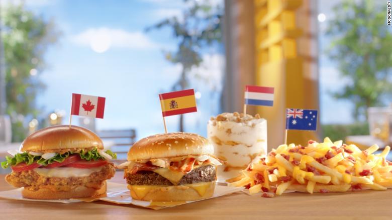 See the international menu items coming to US McDonald's