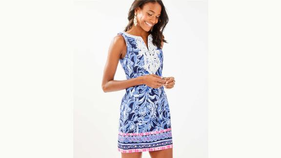 Lily Pulitzer Gaby Stretch Shift Dress ($198; lilypulitzer.com)