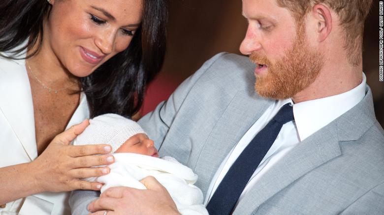 Meghan and Harry's newborn son, Archie Harrison Mountbatten-Windsor, is set to be baptized in Windsor Castle in July.