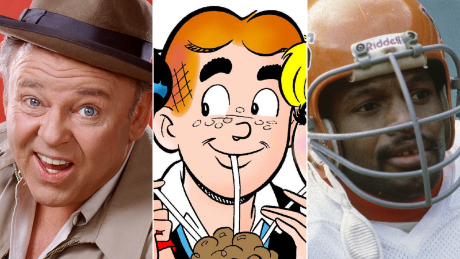 Famous Archies, from left: Archie Bunker, Archie Andrews and Archie Griffin.