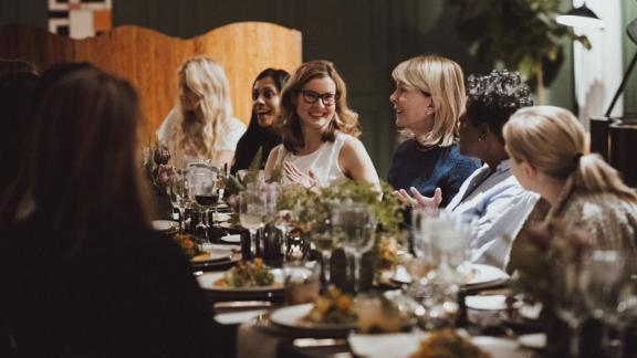 "Chief recently hosted a dinner for members with venture capitalist Susan Lyne, who says in her bio that ""her biggest wins have all come from listening to, building for and betting on women."""