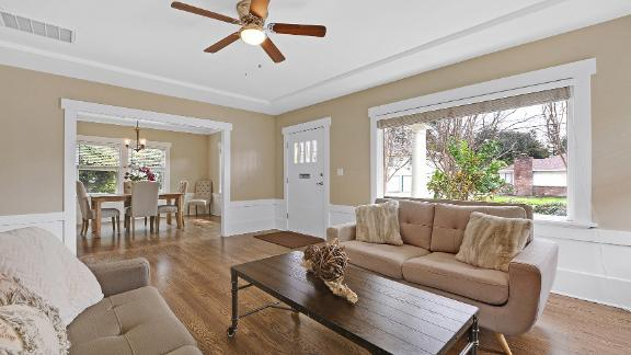 Sarah and Chris Sarra relocated from Washington D.C. for tech jobs and bought this home in San Jose for $973,000.
