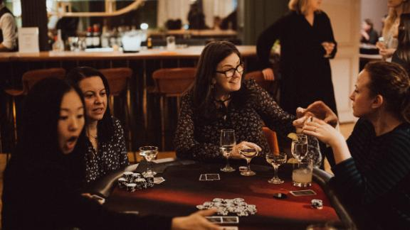 Gatherings like poker night are just one of the ways Chief is solidifying a network of high-powered women.