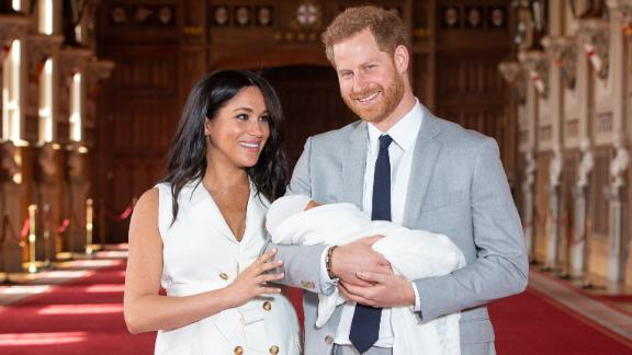 Harry and Meghan show baby Archie to the world in St. George