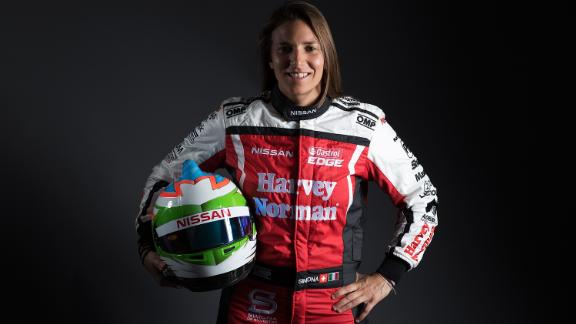 Simona de Silvestro is the only the female racer to have driven in Formula E.