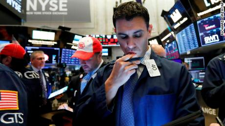 Trader Craig Spector works on the floor of the New York Stock Exchange, Thursday, May 9, 2019. Stocks are opening broadly lower on Wall Street as investors keep a close eye on trade talks between the U.S. and China. (AP Photo/Richard Drew)
