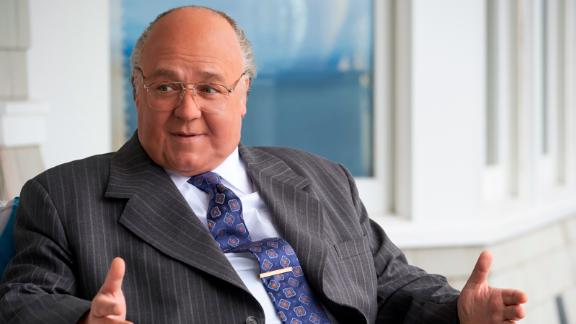 "Russell Crowe stars as Roger Ailes in Showtime's ""The Loudest Voice."""