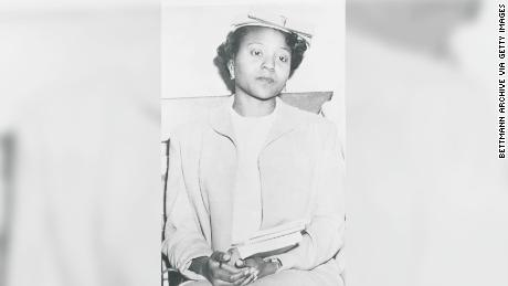 Autherine Lucy Foster in 1956
