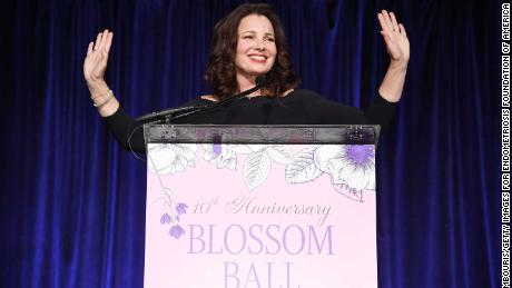 Fran Drescher appears Wednesday at the Endometriosis Foundation Of America's Blossom Ball.