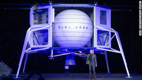 Jeff Bezos unveils his big plans for the moon