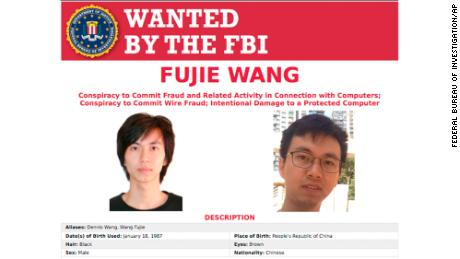 US accuses two people in China over hacks