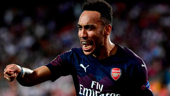Arsenal's Gabonese striker Pierre-Emerick Aubameyang scored 21 Premier League goals last season.