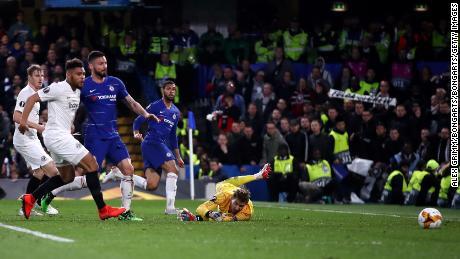 Ruben Loftus-Cheek gave his side the lead at Stamford Bridge.