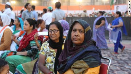 Naseem Bano, 70, says her family is suffering  because of Indian Prime Minister Narendra Modi's economic policies