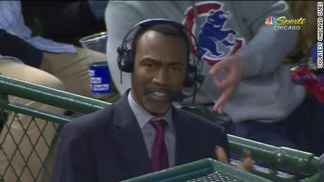 Wrigley Field in Chicago will be off limits indefinitely for a fan after the Cubs acted on the hand gesture behind analyst Doug Glanville.