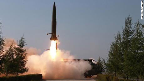 North Korea launches projectiles on Thursday, May 9, 2019