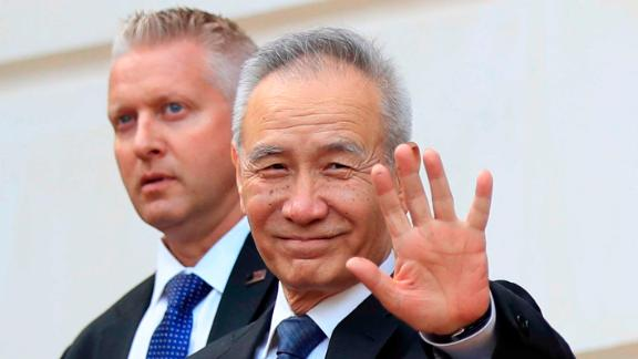 A Chinese delegation led by its top trade negotiator, Liu He, is in Washington for talks.