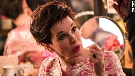 Renee Zellweger plays Judy Garland in an upcoming biopic.