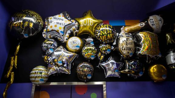 Party City ran out of helium to fill its balloons.
