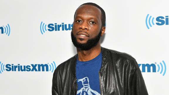 Rapper/producer Pras visits SiriusXM Studios on May 31, 2018 in New York City.  (Photo by Slaven Vlasic/Getty Images)