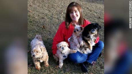Georgia cardiac nurse Terri Mattula says her dogs give her purpose and love.