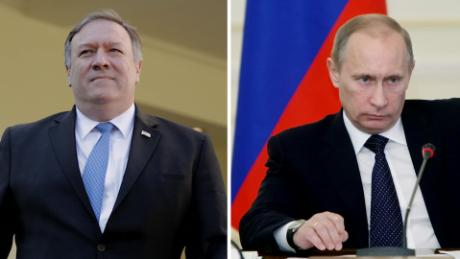 Pompeo prepares to meet Putin after Mueller report