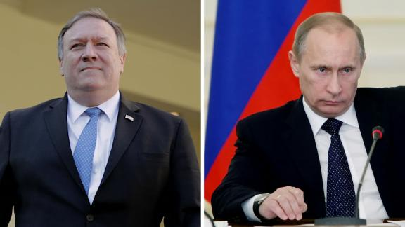 Mike Pompeo to meet with Russian President Vladimir Putin in Sochi, Russia