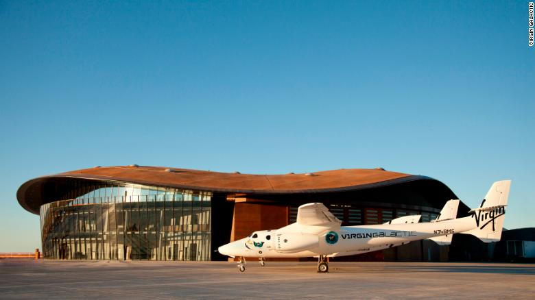 Why Richard Branson's Virgin Galactic is moving to New Mexico