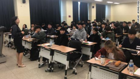 "The ""Gender and Culture"" course at Seoul's Sejong University teaches students the various aspects of dating, love and sex, such as how to reach orgasm, erogenous zones and the psychology of sex."