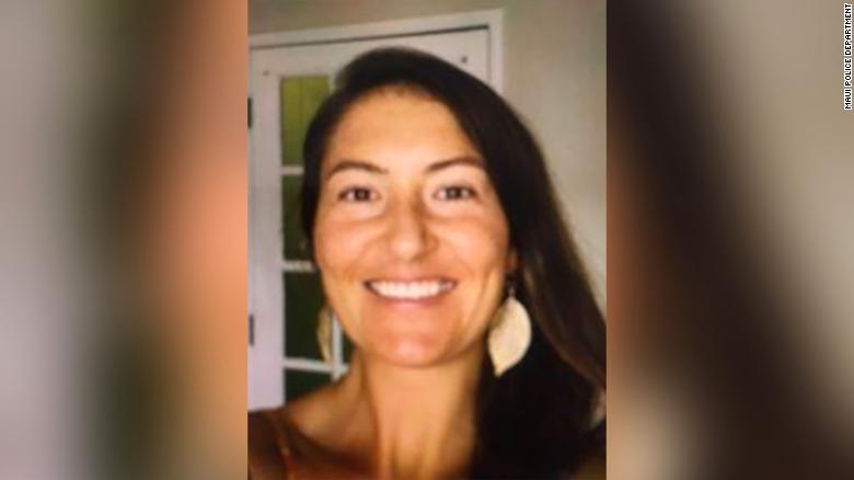 Amanda Eller was reported missing Thursday in Maui.