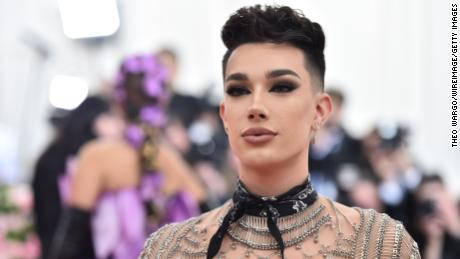 huge discount b54e6 ec5f5 James Charles attends the 2019 Met Gala on May 6 in New York.
