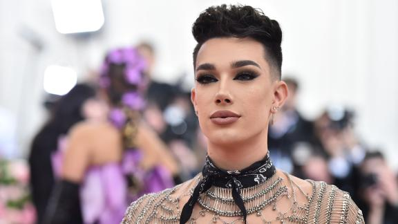 James Charles attends the 2019 Met Gala on May 6 in New York.
