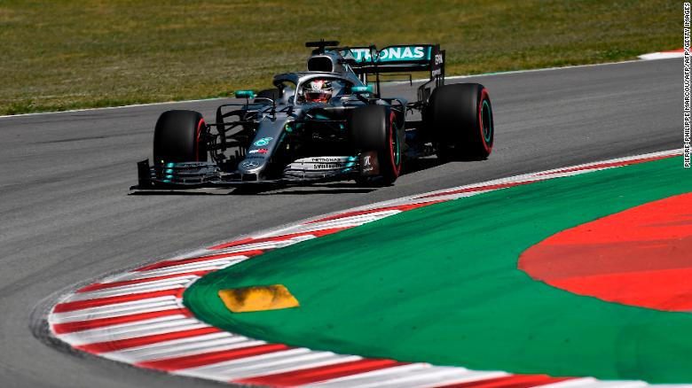 Lewis Hamilton has now won three consecutive Spanish Grand Prix races.