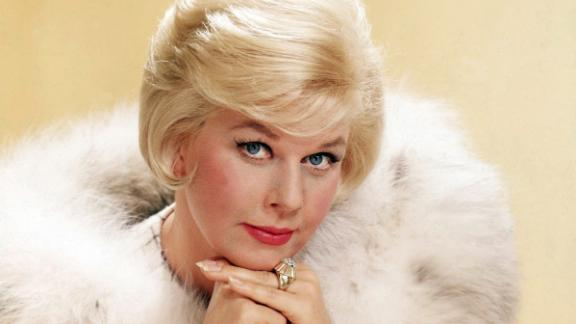 American actress Doris Day in a fur-trimmed coat, circa 1963. (Photo by Silver Screen Collection/Getty Images)