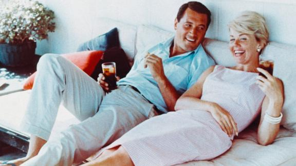 Doris Day teamed up with Rock Hudson in three romantic comedies in the late '50s and early '60s.
