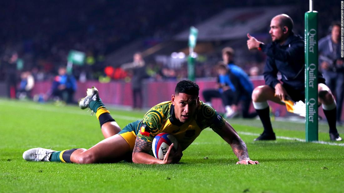 Israel Folau likens dispute with Rugby Australia to 'the way Satan works'
