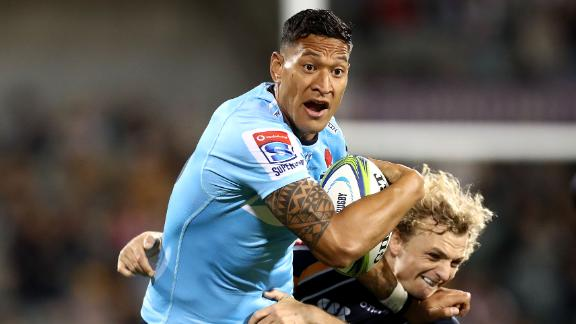 Folau played 73 Tests for Australia.