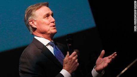 Sen. David Perdue (R-GA) speaks at a special screening of 'Instant Family,' a movie filmed in Georgia.