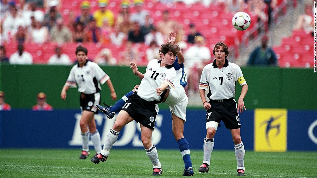 Germany finished second in Group B behind Brazil. The teams drew 3-3 at the Jack Kent Cooke Stadium in Landover, Maryland.