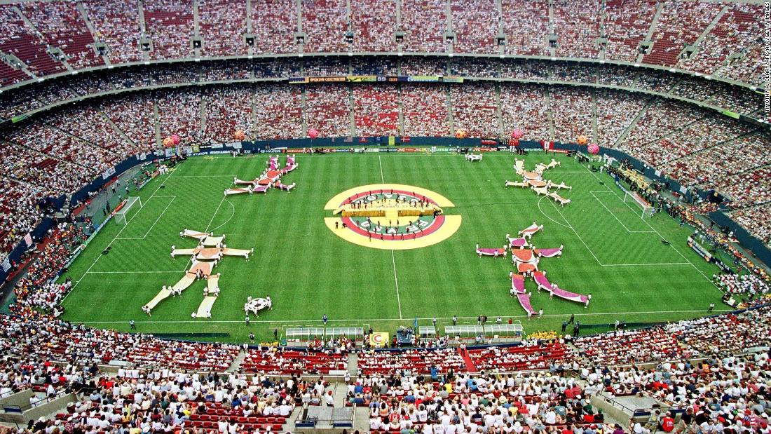 The final Women's World Cup of the 20th century was held in the United States and proved to be a landmark tournament in the history of the women's game. The opening ceremony was held at the Giants Stadium, New Jersey, on June 19.