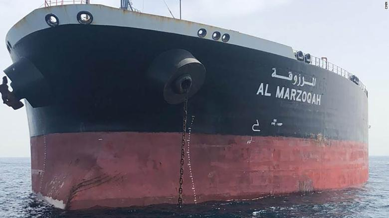 "The ""Al-Marzoqah"" tanker belongs to the privately-owned Dubai-based Red Sea Marine Services firm, which was established in Jeddah in 1987."