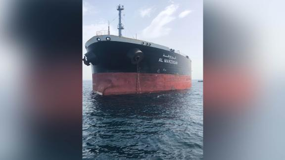 """The """"Al-Marzoqah"""" tanker belongs to the privately-owned Dubai-based Red Sea Marine Services firm, which was established in Jeddah in 1987."""