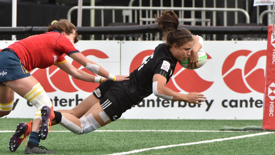 "The Black Ferns recorded their fourth title of the season in Langford, Canada, after beating Australia 21-17 in the final. Ruby Tui (pictured) made the tournament's <a href=""https://twitter.com/WorldRugby7s/status/1127728606124412930"" target=""_blank"">Dream Team</a>."