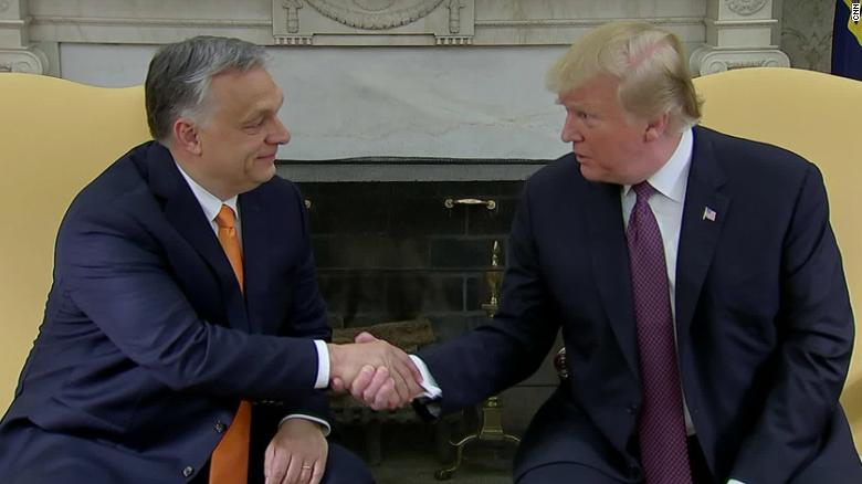 Trump touts far-right leader shunned by past presidents