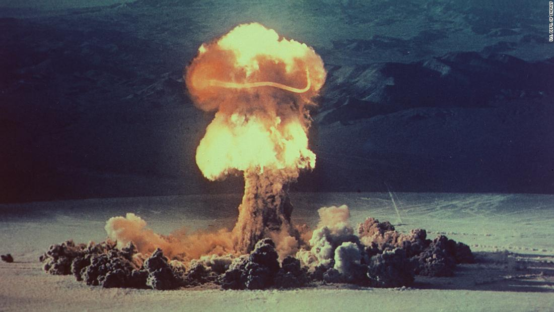 Radioactive carbon from Cold War nuclear tests has been found deep in the ocean