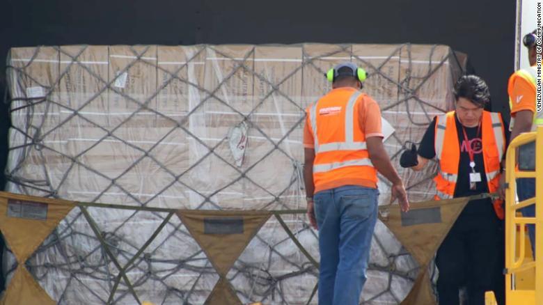 China envía 71 toneladas de ayuda humanitaria a Venezuela